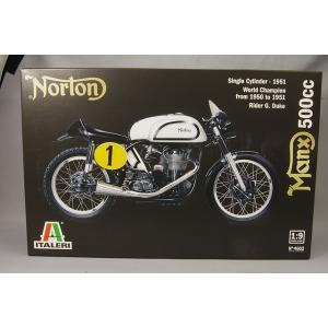 ITALERI プラモデル 1/9 ノートン マンクス 500cc 1951|kidbox