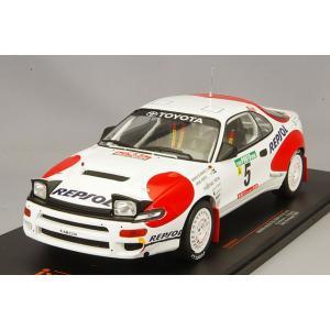イクソ 1/18 トヨタ セリカ GT-FOUR ST185 1992年ラリーポルトガル #5 A.Schwarz - A.Hertz|kidbox