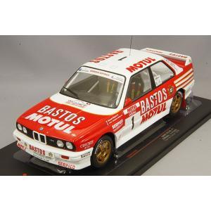 イクソ 1/18 BMW E30 M3 1988 ツールドコルス #1 B.Beguin / J-J.Lenne|kidbox