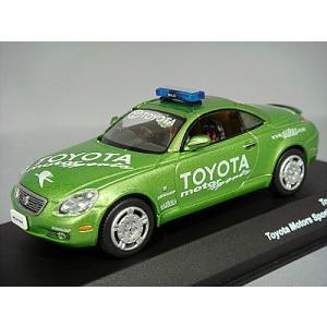 J-コレクション 1/43 トヨタ ソアラ 2004 TOYOTA MOTORS SPORT ペースカー グリーン|kidbox