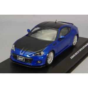 J-コレクション 1/43 スバル BRZ STI 2012 東京オートサロン ブルー|kidbox