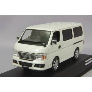 J-コレクション 1/43 日産 キャラバン E25 ブリリアントホワイトパール|kidbox