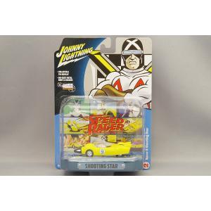 ジョニーライトニング 1/64 スピードレーサー シューティングスター ティンジオラマセット