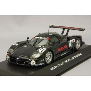 京商 1/43 日産 R390 GT1 1997 ルマン 予備予選 ウィナー #21 M.ブランドル/J.ミューラー kidbox