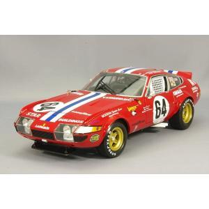 京商 1/18 フェラーリ 365GTB/4 1977 デイトナ24H 総合5位 #64 ナイトver. E.F-ロビンソン/P.ニューマン/M.ミンター kidbox