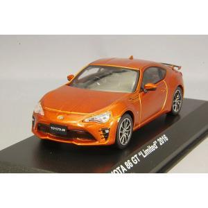 ☆ 京商 1/43 トヨタ 86 GTリミテッド 2016 オレンジメタリック|kidbox
