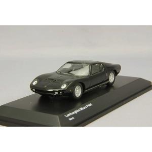 ,【☆ Sale ☆】 京商 1/64 ランボルギーニ ミウラ P400 ブラック|kidbox