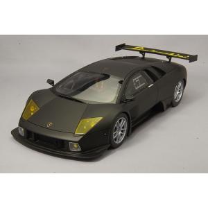 ☆ 京商 1/18 ランボルギーニ ムルシエラゴ R-GT マットブラック 【レジン製】|kidbox