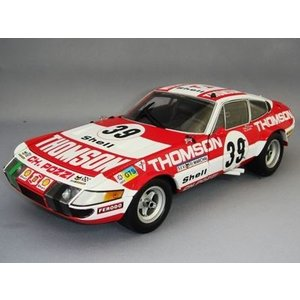 京商 1/18 フェラーリ 365 GTB/4 コンペティツィオーネ 1973 ルマン24H 総合6位 クラスウィナー #39 C.B-Lena / V.Elford kidbox