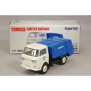 トミカリミテッドヴィンテージ NEO 1/64 マツダ E2000 清掃車 (白/青)|kidbox
