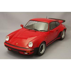 ☆ ミニチャンプス 1/12 ポルシェ 911 ターボ 1977 ストロベリーレッド|kidbox