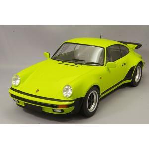 ☆ ミニチャンプス 1/12 ポルシェ 911 ターボ 1977 ライトグリーン|kidbox