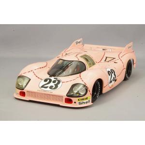 """☆ ミニチャンプス 1/18 ポルシェ 917/20 """"ピンクピッグ"""" 1971 ルマン24H ファ..."""
