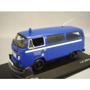 ☆ ミニチャンプス 1/43 フォルクスワーゲン T2 バス 1979 THW kidbox