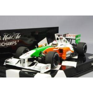 ミニチャンプス 1/43 フォース インディア ショーカー 2010 F1 A.スーティル|kidbox
