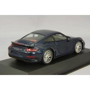 ☆ ミニチャンプス 1/43 ポルシェ 911 ターボ S 2013 ブルーメタリック|kidbox|03