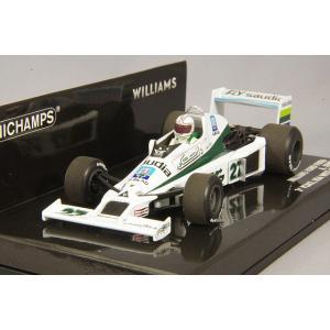 ☆ ミニチャンプス 1/43 ウィリアムズ フォード FW06 1979 F1 アメリカ西GP 3位 #27 A.ジョーンズ|kidbox