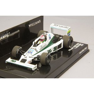 ☆ ミニチャンプス 1/43 ウィリアムズ フォード FW06 1979 F1 #28 C.レガツォーニ kidbox