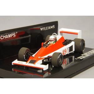 ☆ ミニチャンプス 1/43 ウィリアムズ フォード FW06 1979年4月15日 レース オブ チャンピオンズ ブランズ ハッチ #49 G.アゴスチーニ|kidbox