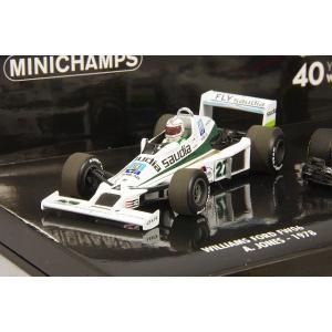 ☆ ミニチャンプス 1/43 ウィリアムズ F1 40周年記念 2台セット フォード FW06 1978 A.ジョーンズ & マルティニ FW40 2017 F.マッサ|kidbox|02