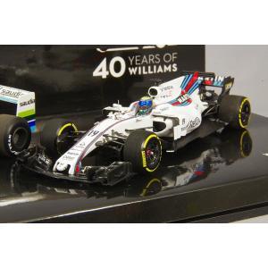 ☆ ミニチャンプス 1/43 ウィリアムズ F1 40周年記念 2台セット フォード FW06 1978 A.ジョーンズ & マルティニ FW40 2017 F.マッサ|kidbox|03