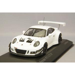 ☆ ミニチャンプス 1/43 ポルシェ 911 GT3 R 991 プレーンボディ ホワイト kidbox