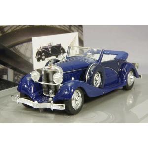 ☆ ミニチャンプス 1/43 イスパノ スイザ J-12 1935 ブルー 【レジン製】|kidbox
