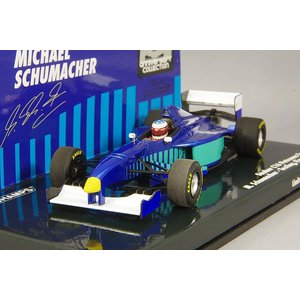 ☆ ミニチャンプス 1/43 ザウバー フェラーリ C16 1997年9月12日 テスト フィオラノ M.シューマッハ 【レジン製】|kidbox