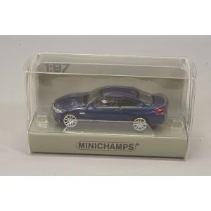 ☆ ミニチャンプス 1/87 BMW M4 (2015) ブルー 【ABS製】|kidbox
