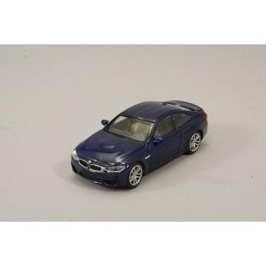 ☆ ミニチャンプス 1/87 BMW M4 (2015) ブルー 【ABS製】 kidbox 02