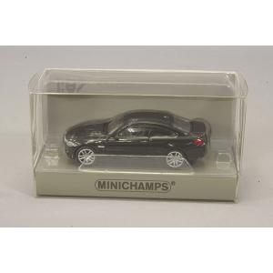 ☆ ミニチャンプス 1/87 BMW M4 2015 ブラックメタリック 【ABS製】|kidbox