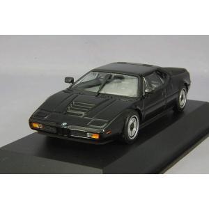 ☆ マキシチャンプス 1/43 BMW M1 1979 ブラック 【再生産】|kidbox