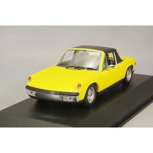 ☆ マキシチャンプス 1/43 フォルクスワーゲン ポルシェ 914/4 1972 イエロー|kidbox