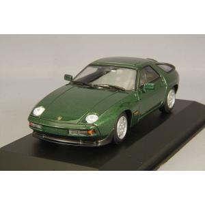 ☆ マキシチャンプス 1/43 ポルシェ 928 S 1979 グリーンメタリック kidbox