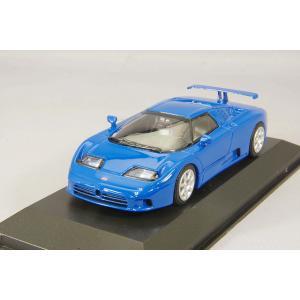 ☆ マキシチャンプス 1/43 ブガッティ EB 110 1994 ブルー|kidbox
