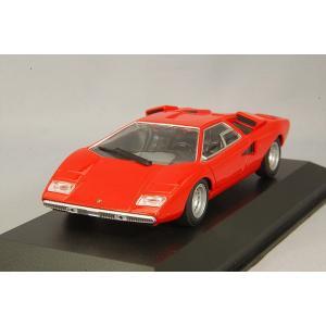 ☆ マキシチャンプス 1/43 ランボルギーニ カウンタック LP 400 1970 レッド|kidbox