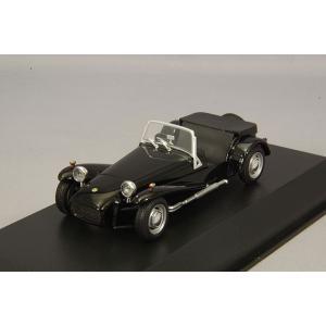 ☆ マキシチャンプス 1/43 ロータス スーパーセブン 1968 ブラック 【再生産】|kidbox