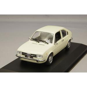 ☆ マキシチャンプス 1/43 アルファロメオ アルファスッド 1972 ホワイト 【再生産】|kidbox