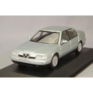 ☆ マキシチャンプス 1/43 アルファロメオ 164 3.0 V6 スーパー 1992 シルバー|kidbox