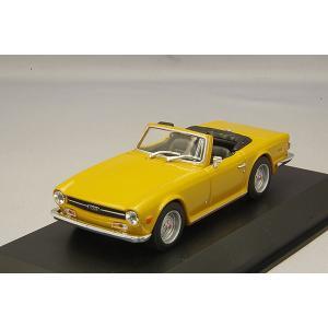 ☆ マキシチャンプス 1/43 トライアンフ TR6 1968-1976 オレンジ 【再生産】|kidbox