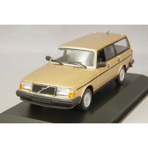 ☆ マキシチャンプス 1/43 ボルボ 240 GL ブレーク 1986 ゴールド|kidbox