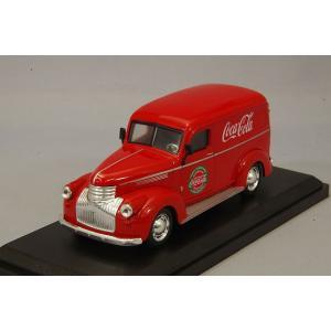 ☆ コカコーラコレクティブルズ 1/43 フォード デリバリー パネル バン 1934 レッド|kidbox