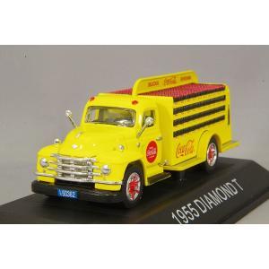 ☆ コカコーラコレクティブルズ 1/50 ダイアモンド T ボトル デリバリー トラック 1955|kidbox