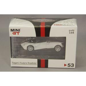 トゥルースケール ミニGT 1/64 パガーニ ウアイラ ロードスター 右ハンドル ホワイト/黒ストライプ 香港限定品 kidbox