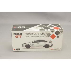 トゥルースケール ミニGT 1/64 ホンダ シビック タイプR 左ハンドル チャンピオンシップホワ...