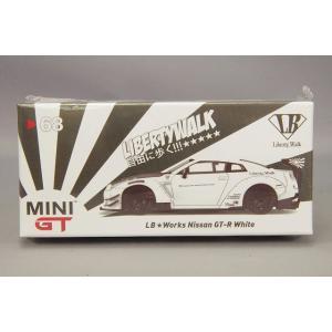 トゥルースケール ミニGT 1/64 LB-WORKS 日産 GT-R R35 タイプ2 リアウイン...