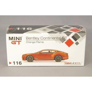 トゥルースケール ミニGT 1/64 ベントレー コンチネンタル GT 左ハンドル オレンジフレイム|kidbox