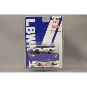 (Mijo特注) トゥルースケール ミニGT 1/64 LB-WORKS 日産 GT-R R35 タイプ1 リアウイング Ver.1 #46 Infinite Motorsport 左ハンドル kidbox