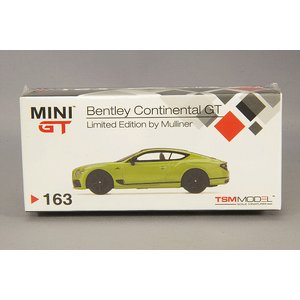トゥルースケール ミニGT 1/64 ベントレー コンチネンタル GT ミュリナー リミテッドエディション 左ハンドル kidbox