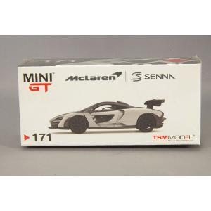 トゥルースケール ミニGT 1/64 マクラーレン セナ シルバー 右ハンドル kidbox